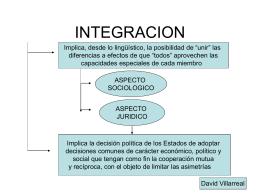 INTEGRACION - Estudio Villarreal & Asociados