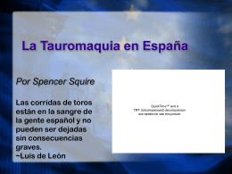 Squire Tauromaquia
