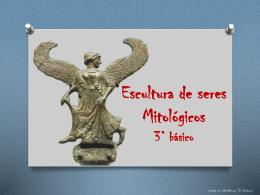 Escultura de seres Mitológicos