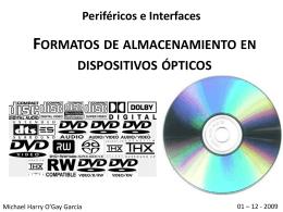 Formatos de discos ópticos