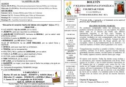18 Agosto 2013 - Iglesia Cristiana Evangélica de Colmenar Viejo