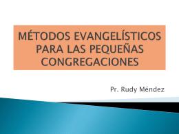 Métodos evangelísticos para las PC