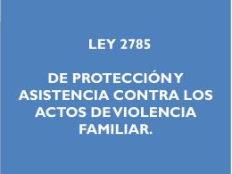 LEY 2785