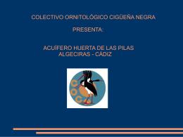 Presentación - Colectivo Ornitológico Cigüeña Negra