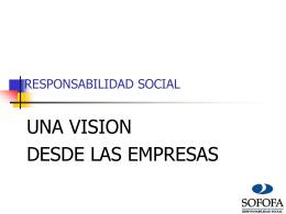 intervención Sr. Gonzalo García, presidente Sofofa Responsabilidad
