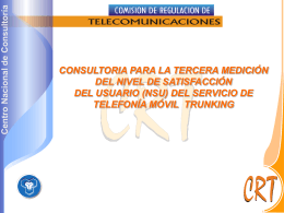 Informe Trunking