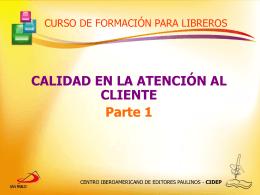 atencion al cliente parte 1