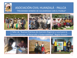 Diapositiva 1 - Ministerio de Energía y Minas