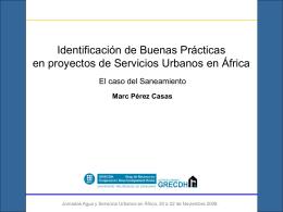 Identificación de Buenas Prácticas en Proyectos de Servicios