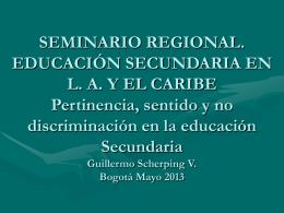 Seminario Metropolitano FID-Educación Pública