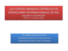 Presentación Rafael Calduch