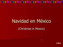 La Navidad en Mexico - DPS World Languages