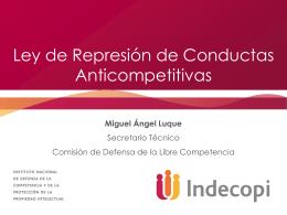 Ley de competencia de Perú