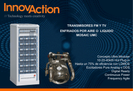 Diapositiva 1 - Innovaction Broadcast
