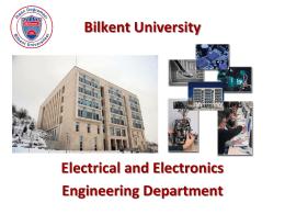 Slide 1 - Bilkent IEEE