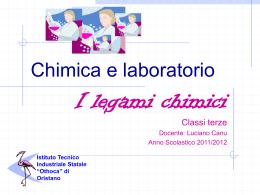 Legami Chimici - Istituto Tecnico Industriale Statale Othoca