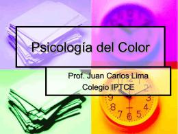 Psicologia del Color.pps