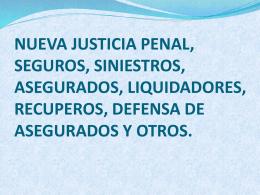5-Nueva Justicia Penal Seguros Siniestros