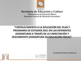 21.- presentación inicial - Secretaría de Educación y Cultura