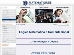 Lógica Matemática e Computacional