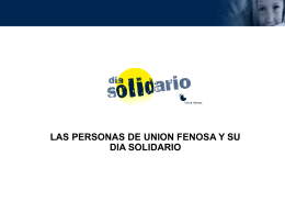 Día Solidario de Unión Fenosa (Power Point) (castellano)