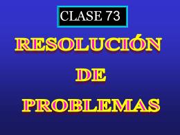 Clase 73: Resolucion de Problemas EGE