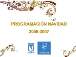 Propuestas Navidad - Ayuntamiento de Madrid