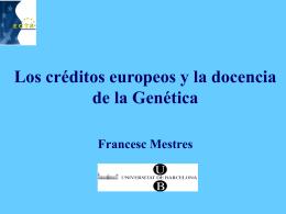 3. - Sociedad Española de Genética