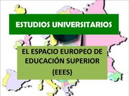 Estructura Enseñanza Universitaria