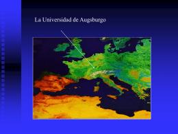 350 estudiantes - Universität Augsburg