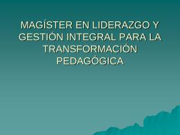 Descargar Presentación Magister