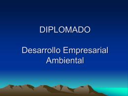 Presentacin Diplomado Agosto 2004