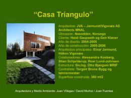 Casa Triangulo``(TqS..