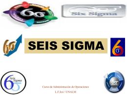 Etapas del método Seis Sigma