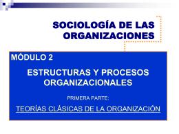 modulo - sociología de las organizaciones