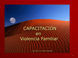 modelo multidimensional explicativo de la violencia familiar