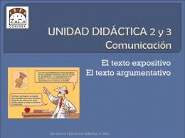 UNIDAD DIDÁCTICA 2 y 3