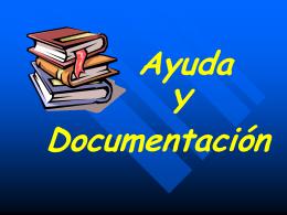 Ayuda Y Documentación