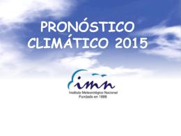 Pronostico Climatico 2015 Prensa