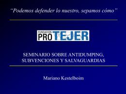 Defensa de la Competencia - Fundación PRO