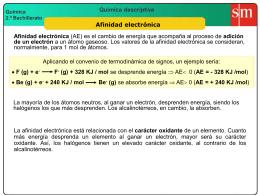 6 Afinidad electrónica