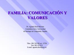 LA FAMILIA Y LA EDUCACIÓN DE LOS HIJOS