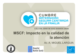 MSCF - UNICEF Campus virtual
