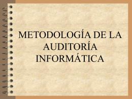 Auditoria y seguridad 4  - Departamento de Computación e