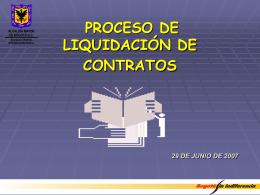 Presentación Procedimiento Actas de Liquidación