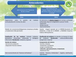 Conceptualización y estructuración de la Ordenanza