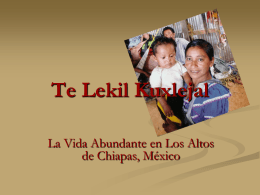 Te lekil Kuxlejal - International Ministries