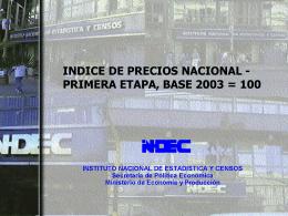 indec - IBGE
