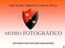 MUSEO FOTOGRÁFICO para avanzar hacer click sobre cada