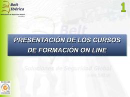 Diapositiva 1 - Belt Ibérica SA